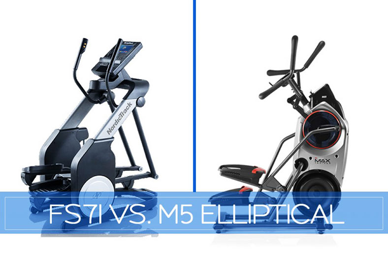 NordicTrack FreeStride Trainer FS7i vs. Bowflex Max Trainer M5(M6) – Updated October 2019