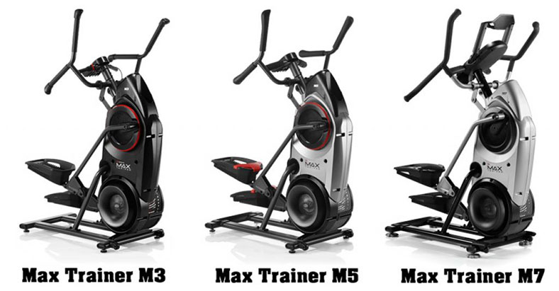 Bowflex Max Trainer M7 vs. M5 vs. M3 Comparison 2019 – Which is Best for You?