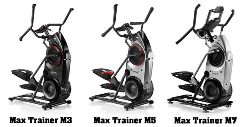 bowflex max trainer m7 vs m5 vs m3