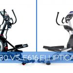 Schwinn 430 vs Nautilus E616-Elliptical Comparison