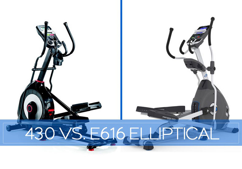 Schwinn 430 vs Nautilus E616 Elliptical Comparison