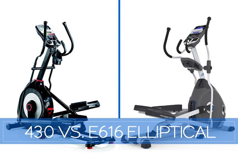 Schwinn 430 vs Nautilus E616-Elliptical Comparison