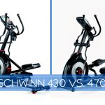 Schwinn 430 vs 470 Elliptical Machine Comparison