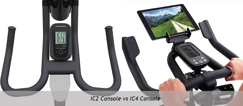Schwinn IC2 Console vs Schwinn IC4 Console