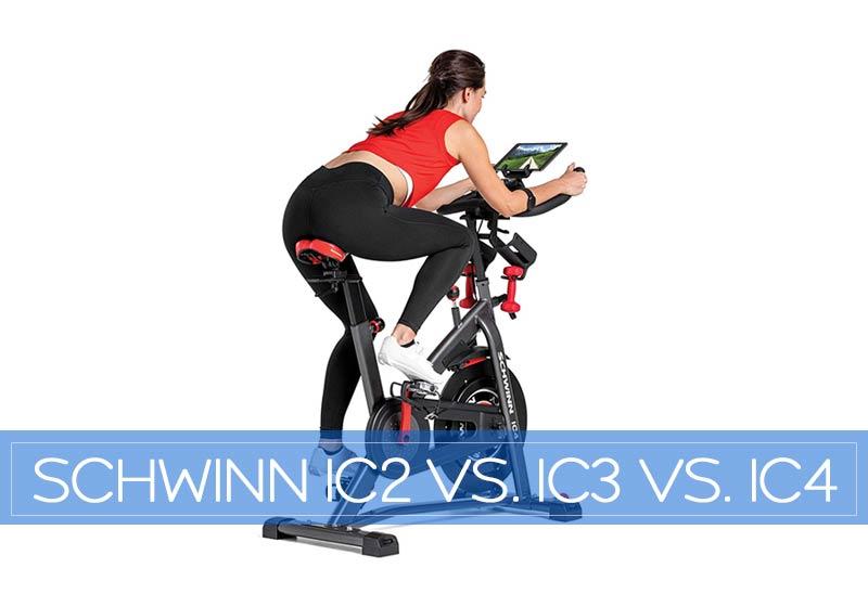 Schwinn IC2 vs IC3 vs IC4