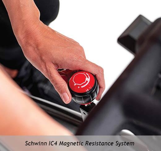 Schwinn IC4 magnetic resistance system