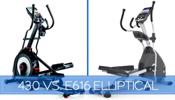 Our In-Depth Schwinn 430 vs. Nautilus E616 Elliptical Comparison for 2019 (REVISED Octorber))